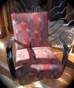 1940s Czech Art Deco Bentwood Chair • Pair