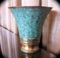1920s Art Deco Bronze Vase • Signed by Carl Sorenson