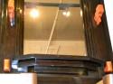 Unique Custom Mirror with unusual faux Bakelite hooks