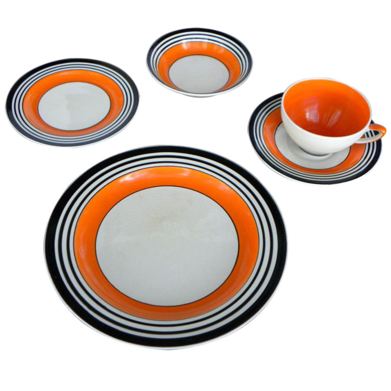 Verbazingwekkend Susie Cooper Art Deco Tableware Dishes extremely rare, Tango AR-34