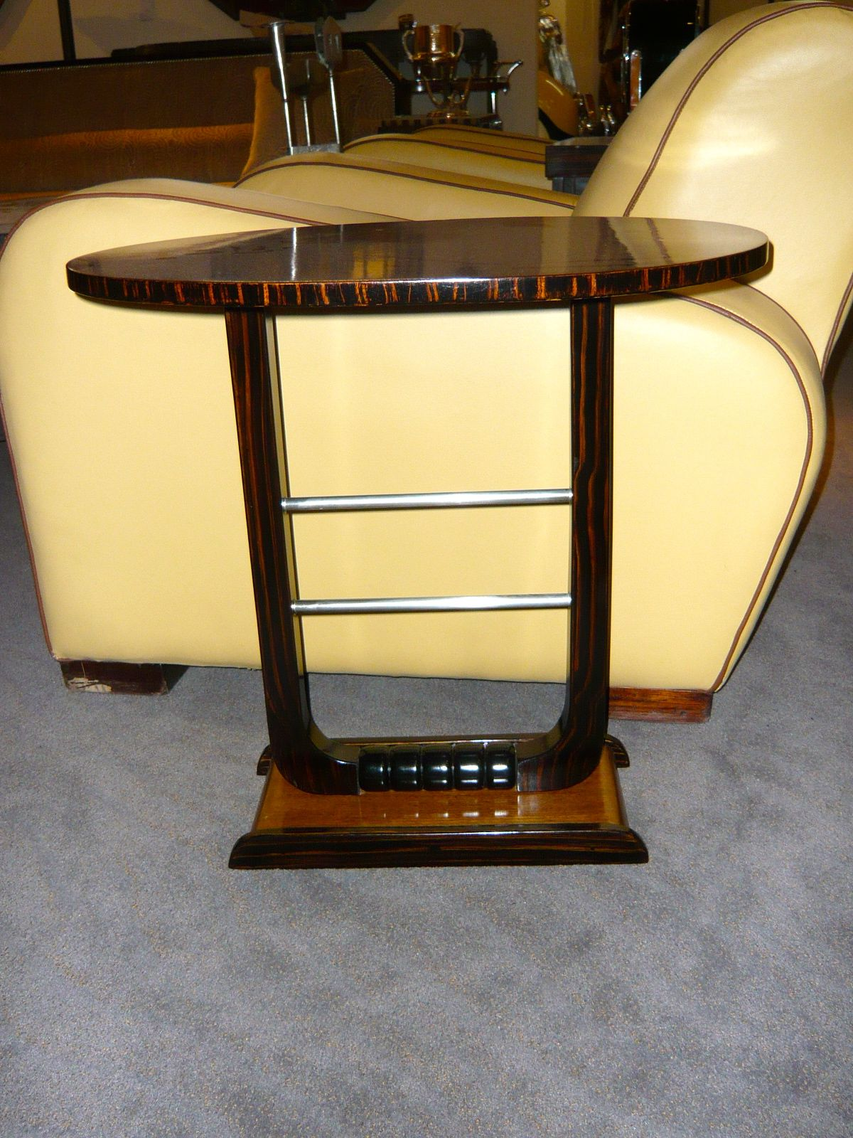 Art Deco Cocktail or Smoking Table - Side table