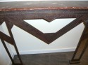 Nice Art Deco Iron metal Console, with