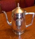 Spectacular German WMF Silverplate Art Nouveau Tea and Coffee Set