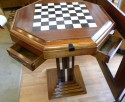 Art Deco Game table Chess Checkers Backgammon