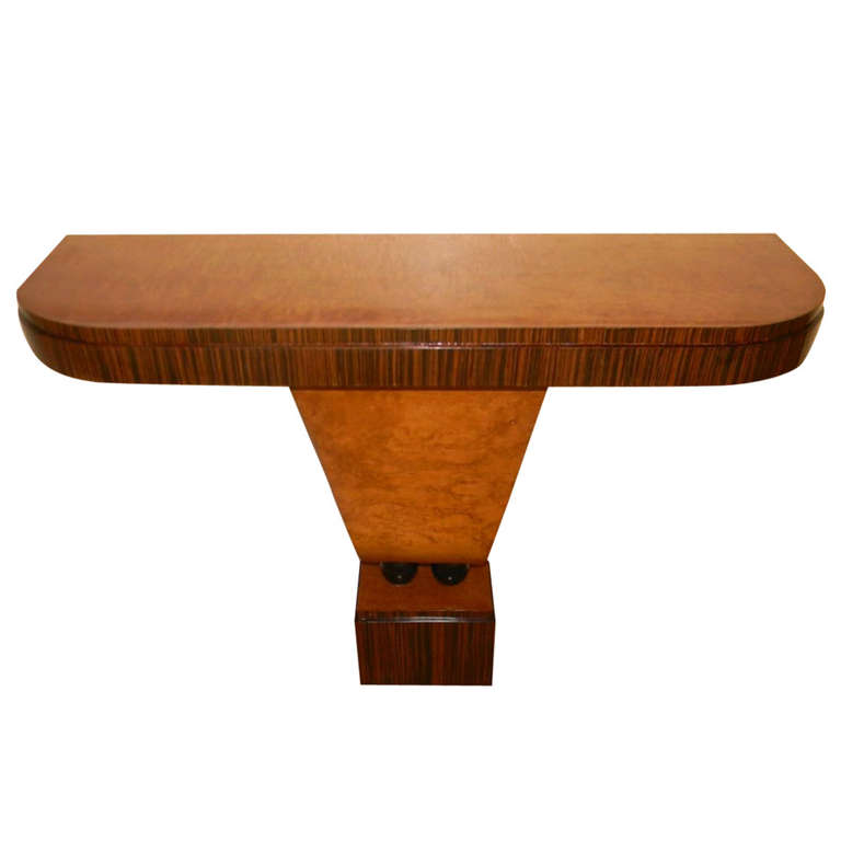 art deco french style console
