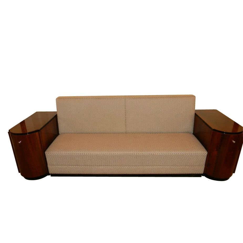 Art Deco Sofa Day Bed With Storage