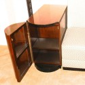 Art Deco Sofa Day bed with storage cabinets