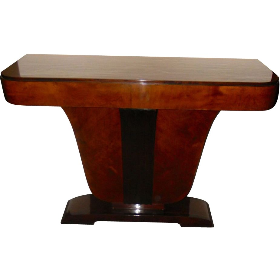 Classic French style custom entry Wood console