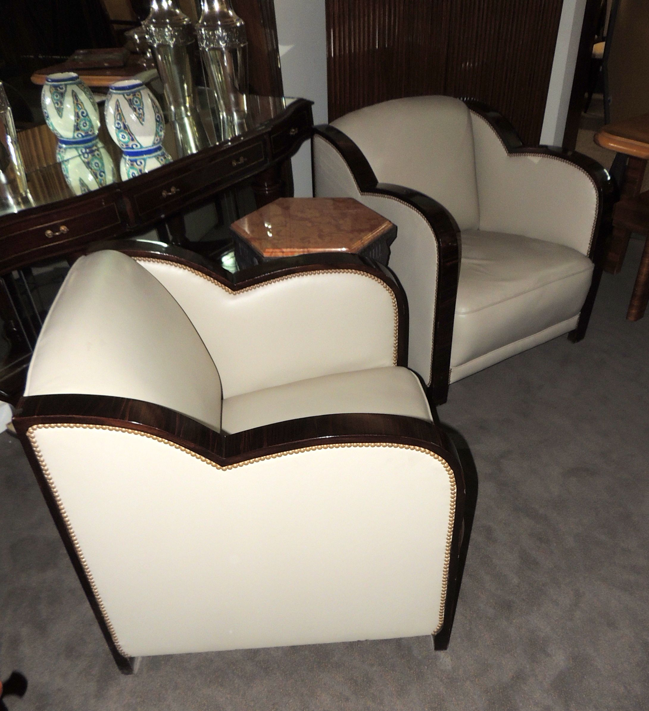 Burgundy Carpet Bedroom Small Bedroom Cupboards Designs Bedroom Chandeliers Next Cream Bedroom Chairs: Art Deco French Style Leather Club Chairs