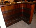 Art Deco Bar L Shaped Stand behind