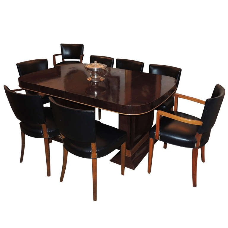 Art Deco Dining Room Furniture For Buffets Tables Chairs Cabinets