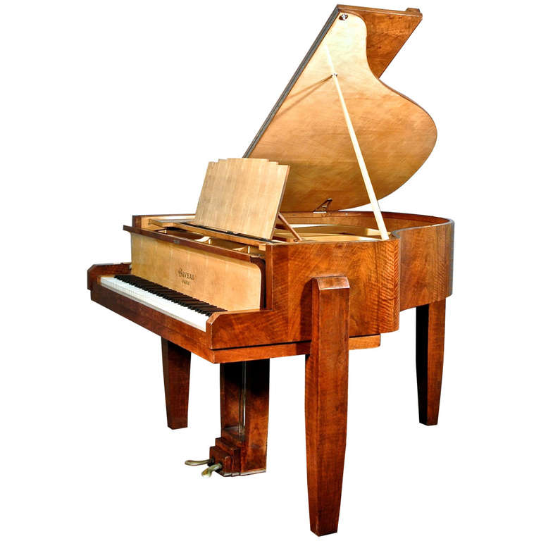 French art deco piano  by Gaveau in the manner of Dominique circa 1933.