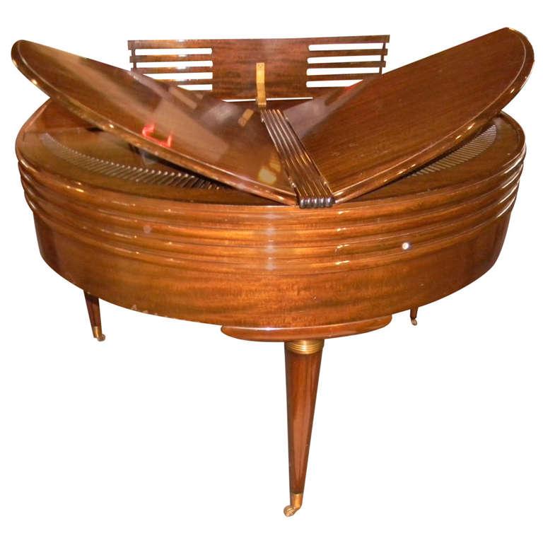 Wurlitzer butterfly baby grand piano art deco streamline for Piani art deco