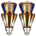 Art Deco Movie Theater Light Sconces | Vanity Ballroom