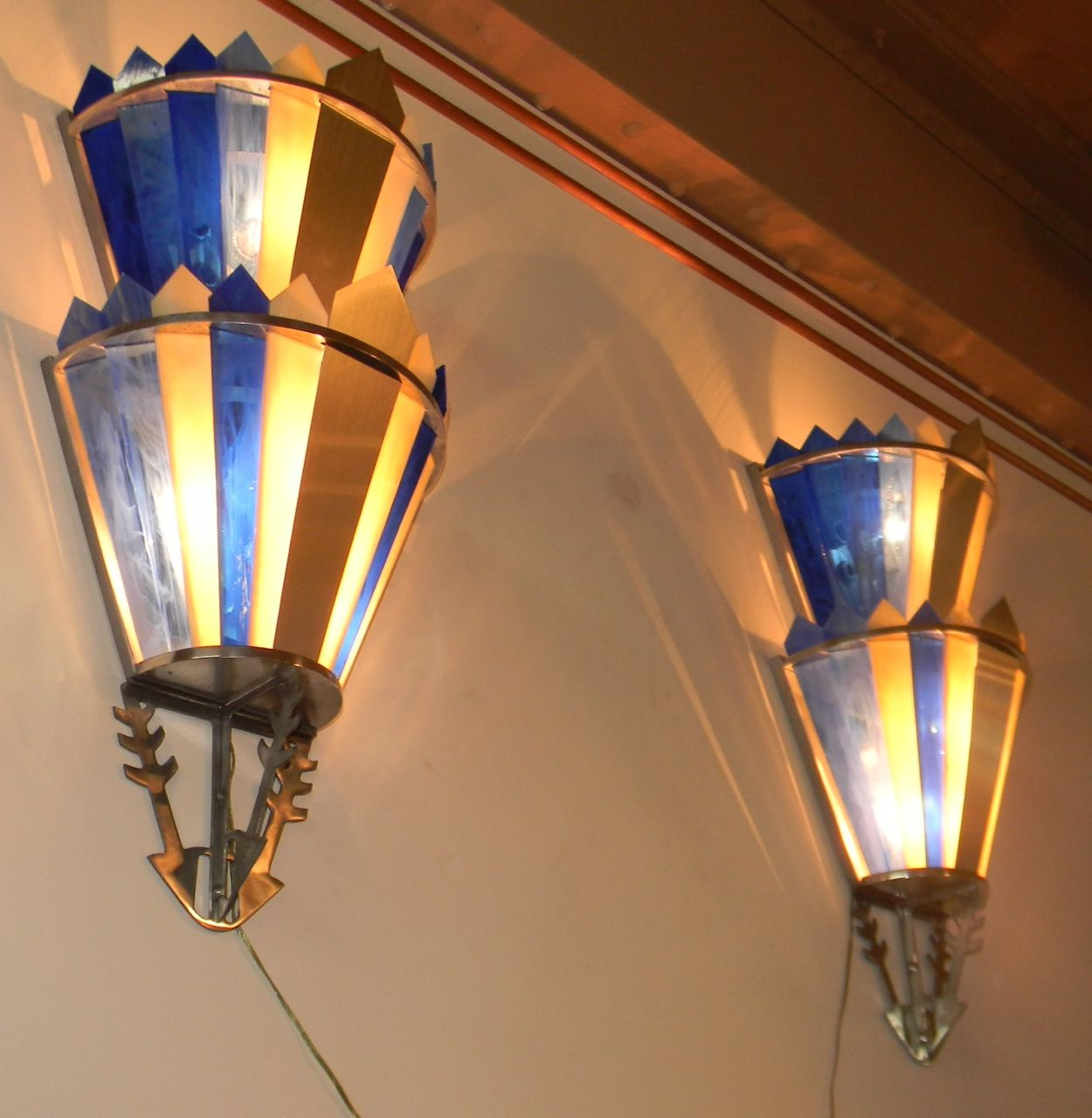 Art Deco Movie Theater Light Sconces