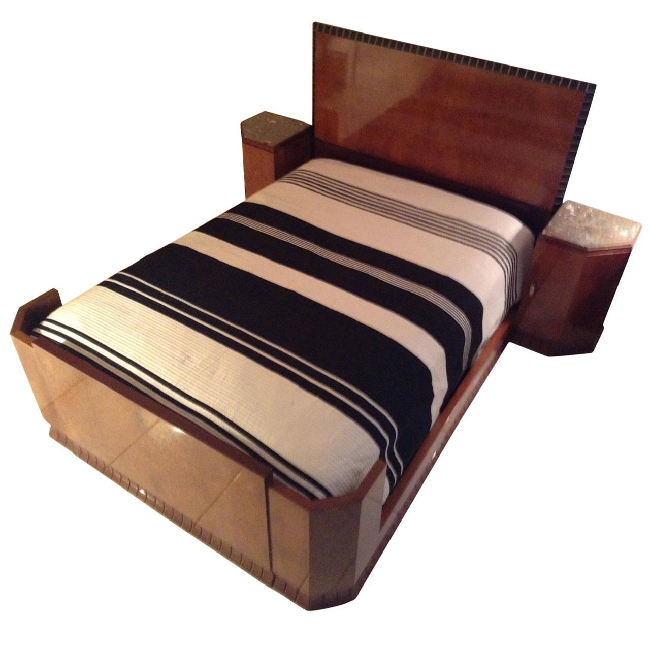 French art deco modernist bedroom suite bedroom art deco collection - Deco volwassen bed ...