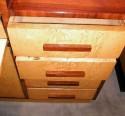 streamline two-tone bar/storage cabinet