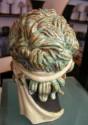 Czech Ceramic Head Figure - back side