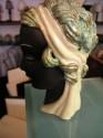 Czech Ceramic Head Figure - left side