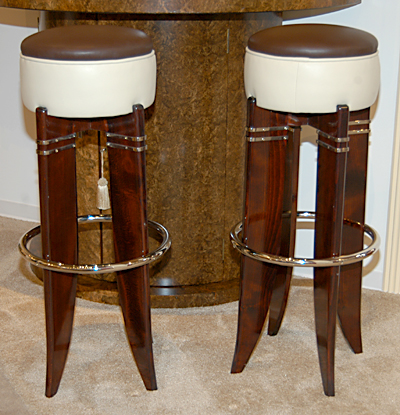 1930s Deco Style Bar Stools Sold Items Seating Items