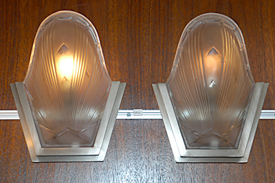 1930s French Modernist Sconces