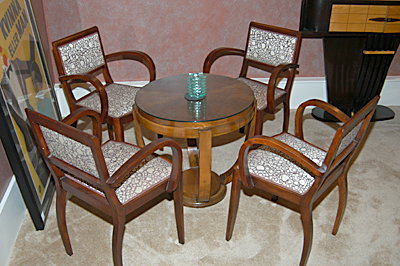Four cocktail chairs
