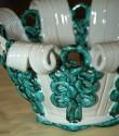 Green and White Bowl from Atelier Sainte Radegonde