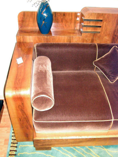 French Cozy Corner Sold Items Seating Items Art Deco
