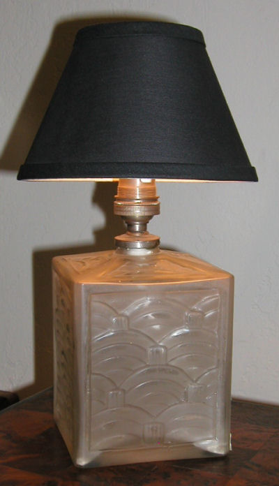 Art Deco Glass Table Lamp French Table Lamps Art Deco