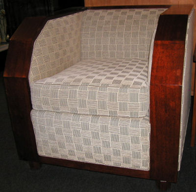 1930s Style Custom Chairs With Josef Hoffman Designed