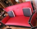 Art Deco Sofa Suite Spanish Jetson's style