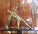 Decoux signed French Art Deco Sculpture
