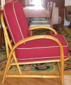 Bamboo Lounge Suite - chair side view