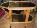 Bamboo Lounge Suite - side table or cart