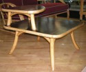 Bamboo Lounge Suite -end table side view