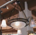 1930's Degue chandelier