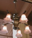 Chrome Chandelier - different angle