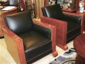 French Leather Deco Suite