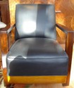 pair of French deco chairs