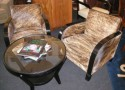 South American Deco Chairs