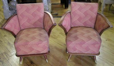 European Mahogany Chairs