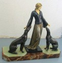 Art Deco Figure of a Woman by Menneville