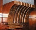 1940s Copper Sconces Art Deco