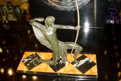 French Bronze Archer
