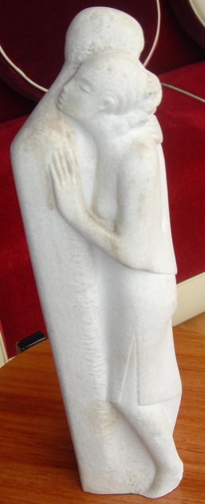 Art Deco Sculpture of Tango Dancers