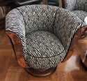 French style Art Deco Swivel Chair