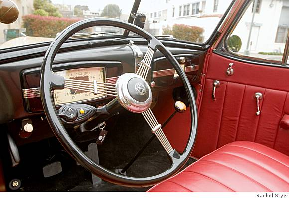 a 1936 buick convertible is art deco on wheels. Black Bedroom Furniture Sets. Home Design Ideas