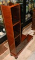 Carved African Theme Art Deco Book case