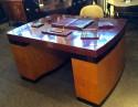 All set up on desk