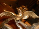 1992kFrench Art Deco Statue signed Limousin  Bird